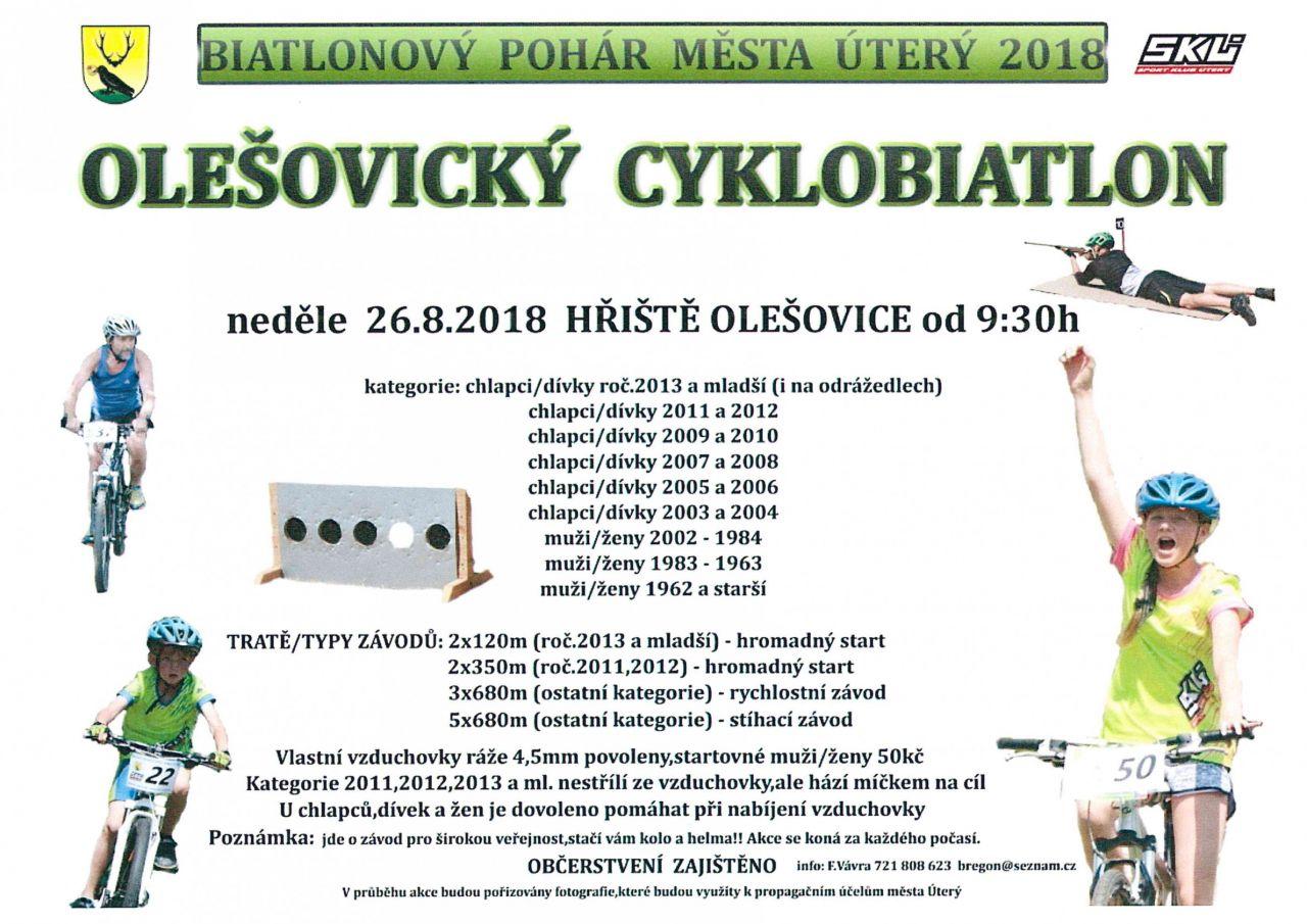 Olešovický cyklobiatlon